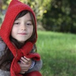 photo tricot tricot modele echarpe capuche 11