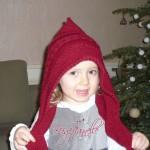 photo tricot tricot modele echarpe capuche 14
