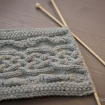 photo tricot tricot modele echarpe capuche 15