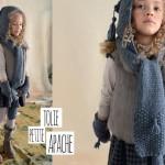 photo tricot tricot modele echarpe capuche
