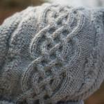 photo tricot tricot modele echarpe capuche 16