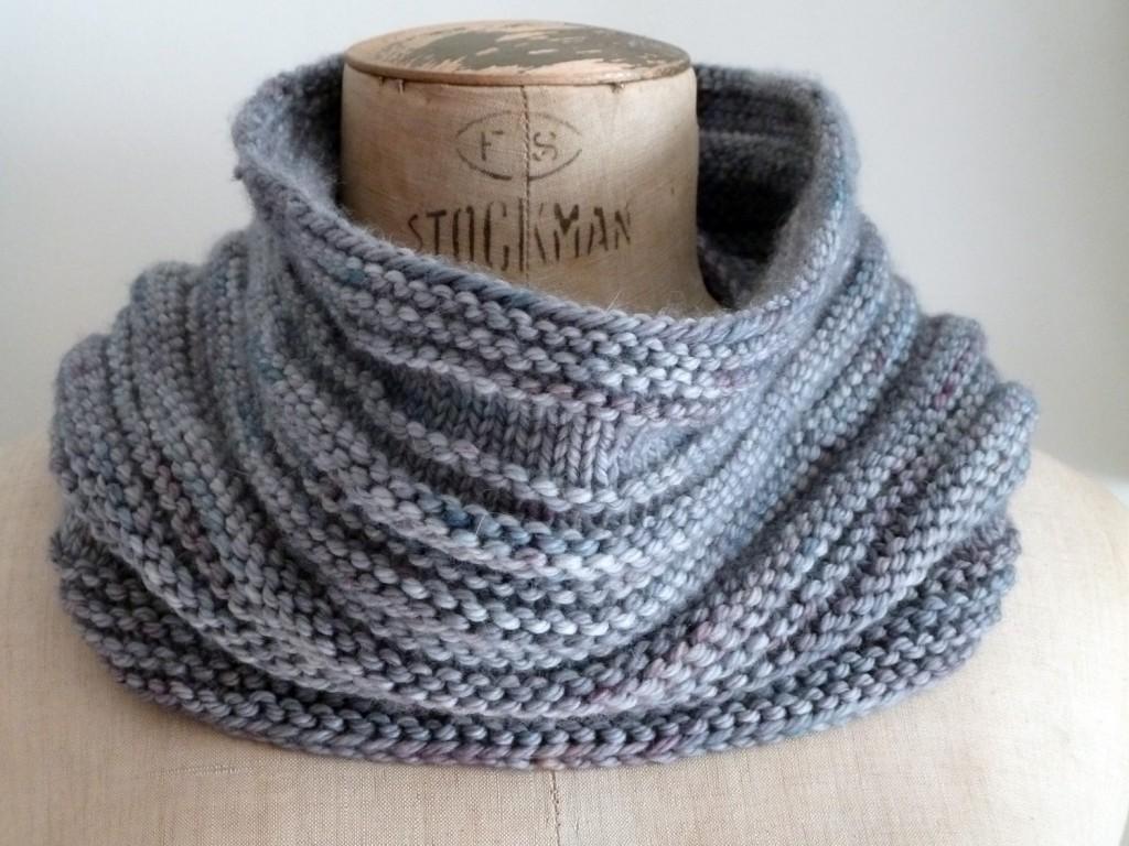 tricoter une echarpe facilement