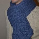 photo tricot tricot modele echarpe facile 9