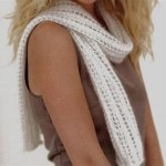 photo tricot tricot modele echarpe fantaisie 2