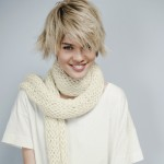 photo tricot tricot modele echarpe fantaisie 6