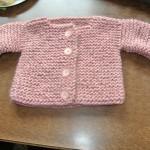 photo tricot tricoter modele layette 10