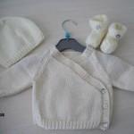 photo tricot tricoter modele layette 12