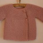 photo tricot tricoter modele layette 14