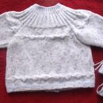 photo tricot tricoter modele layette 17