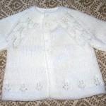 photo tricot tricoter modele layette 2