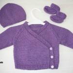 photo tricot tricoter modele layette 8