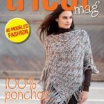 photo tricot tricoter modele poncho 10