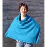 photo tricot tricoter modele poncho 11