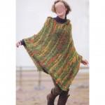 photo tricot tricoter modele poncho 13