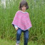 photo tricot tricoter modele poncho 15