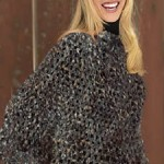 photo tricot tricoter modele poncho