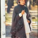 photo tricot tricoter modele poncho 3