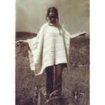 photo tricot tricoter modele poncho 8