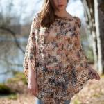 photo tricot tricoter modele poncho 9