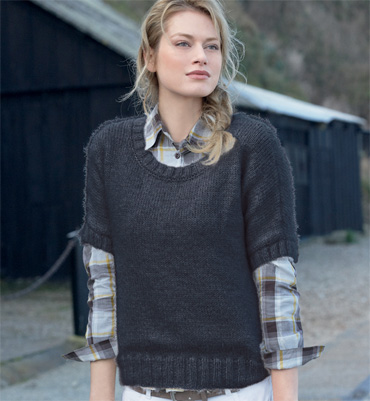 photo tricot tricoter modele pull femme 11. Black Bedroom Furniture Sets. Home Design Ideas