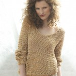 photo tricot tricoter modele pull femme 9